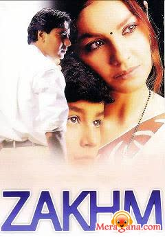 Poster of Zakhm+(1998)+-+(Hindi+Film)