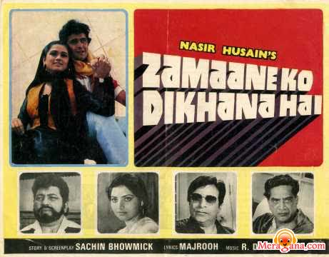 Poster of Zamaane Ko Dikhana Hai (1981) - (Hindi Film)