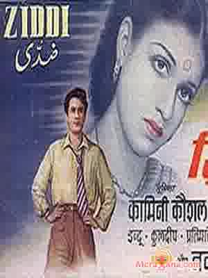 Poster of Ziddi (1948) - (Hindi Film)