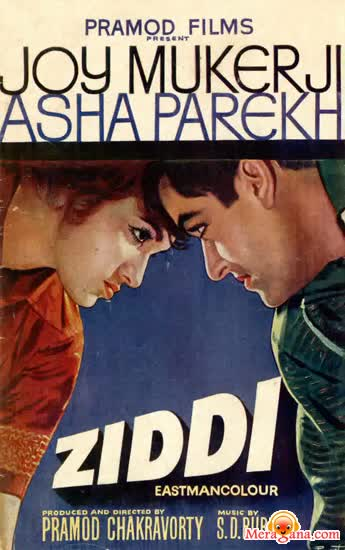 Poster of Ziddi (1964) - (Hindi Film)