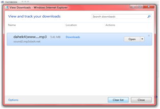 Delete Internet Explorer 10 History