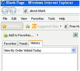Delete Internet Explorer 8 History